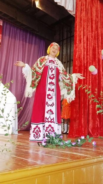 Юные артисты с. Н.Порубежка показали сельчанам спектакль