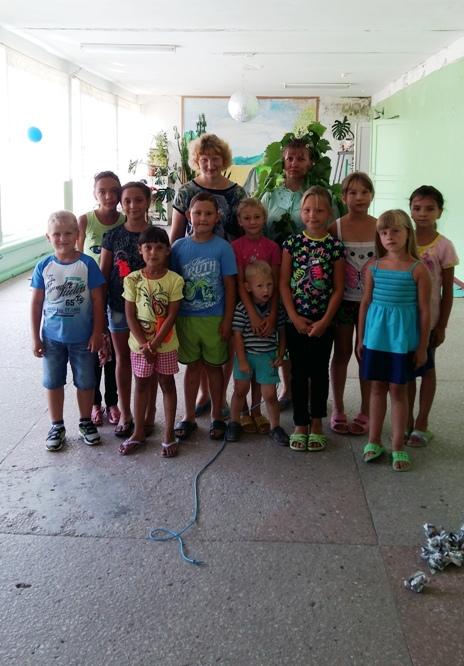Дети с.Н. Порубежка активно отдыхают летом