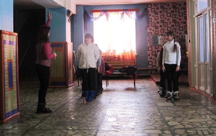 Игровая программа «Позвоните 01» для школьников с. Березово