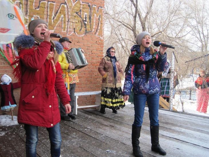 Народное гулянье прошло в селе Березово
