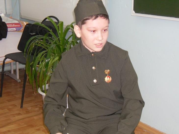 Урок мужества для пугачевских школьников прошел в школьном музее