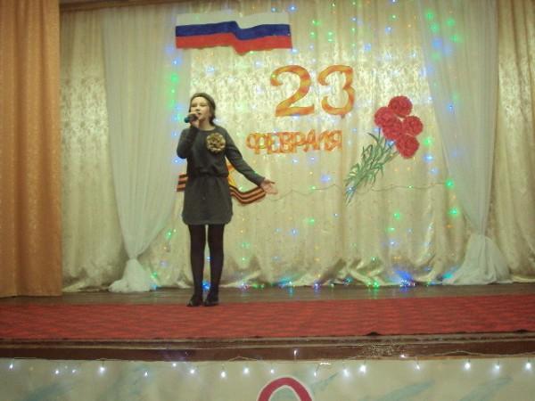 Праздничный концерт прошел в Доме культуры п.Заволжский