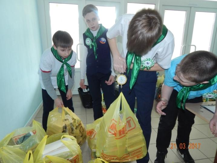 В школе № 1 полезно отметили Всемирный день леса