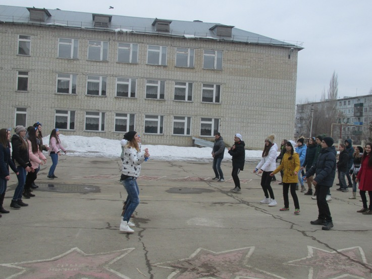 «Голубая лента» в Пугачеве