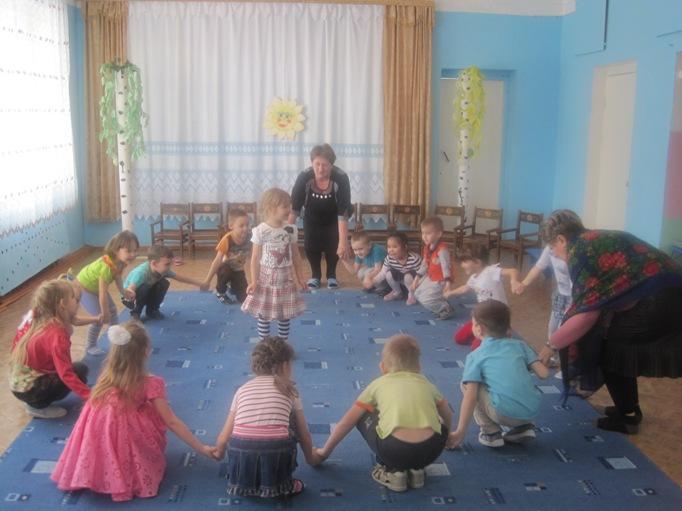 Игровая программа в детском саду с.Успенка