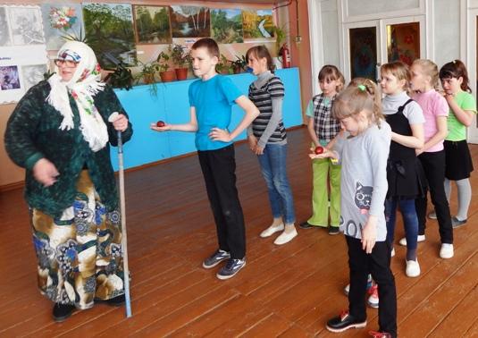 Пасхальные забавы для школьников п. Солянский