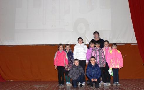 Школьники с. Рахмановка приняли участие в тематической программе