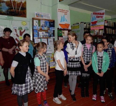 «Библиосумерки - 2017» в библиотеке пос. Солянский