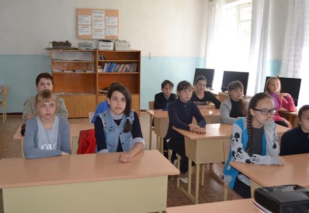 Информационное мероприятие для школьников с. Селезниха