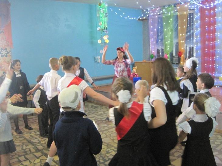 Игровая программа в Доме культуры с. Березово