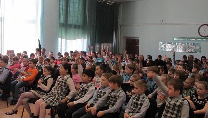 Всероссийский открытый урок прошел в СОШ №14