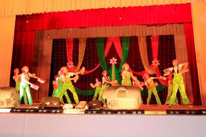 В ГДК состоялся отчетный концерт танцевального коллектива
