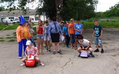 Школьники п. Солянский соревновались в знании ПДД