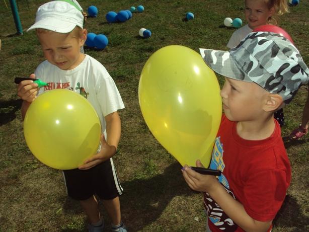 Малыши п. Заволжский побывали на празднике воздушных шаров