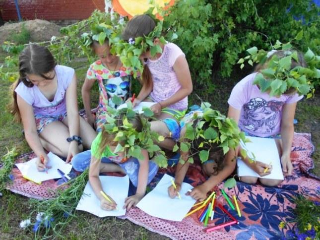 Клинцовцы отметили славянский праздник