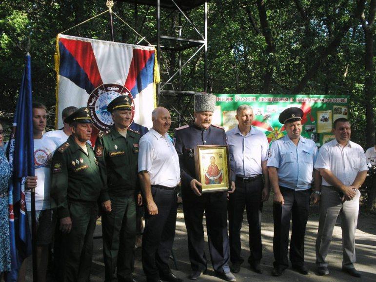 В Пугачеве состоялась передача символов комбинированного пробега