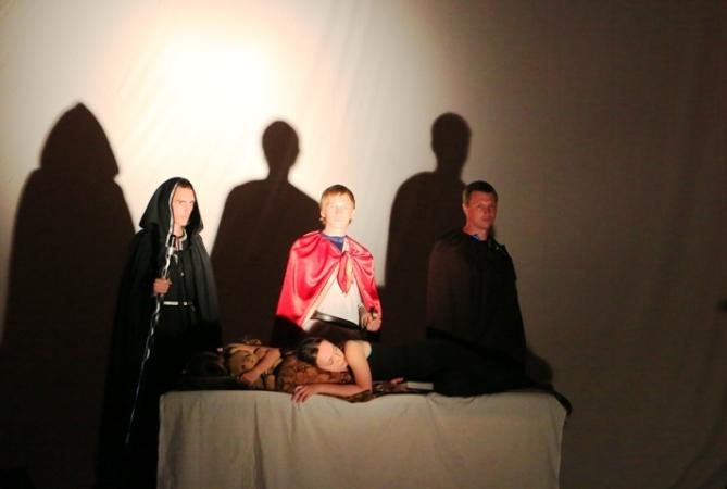 Пугачевские зрители посмотрели спектакль в жанре  фолк – фэнтези