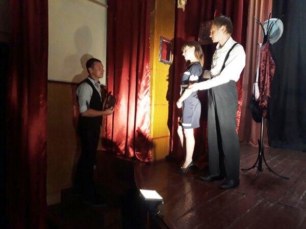 Пугачевские зрители увидели экспериментальный спектакль