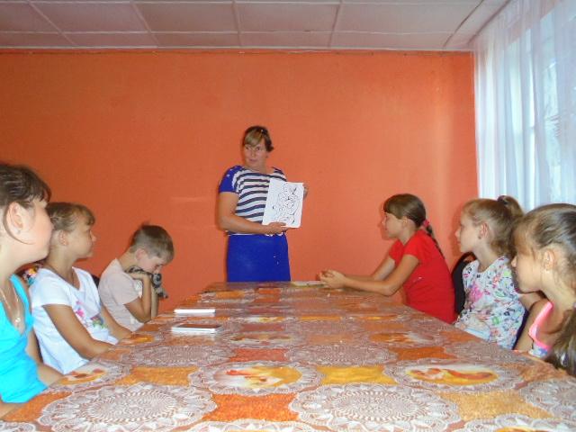 Школьники с. Красная Речка говорили об отрицательных эмоциях