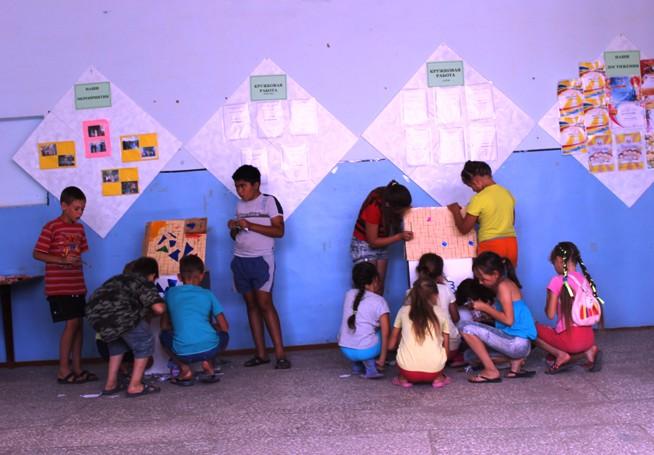Дети села Рахмановка мечтают о будущем