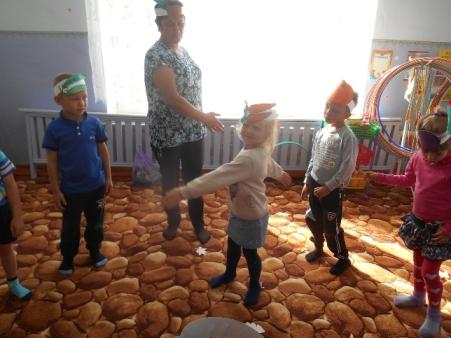 Дошкольники с.Б. Таволожка побывали в гостях у тетушки Тыквы