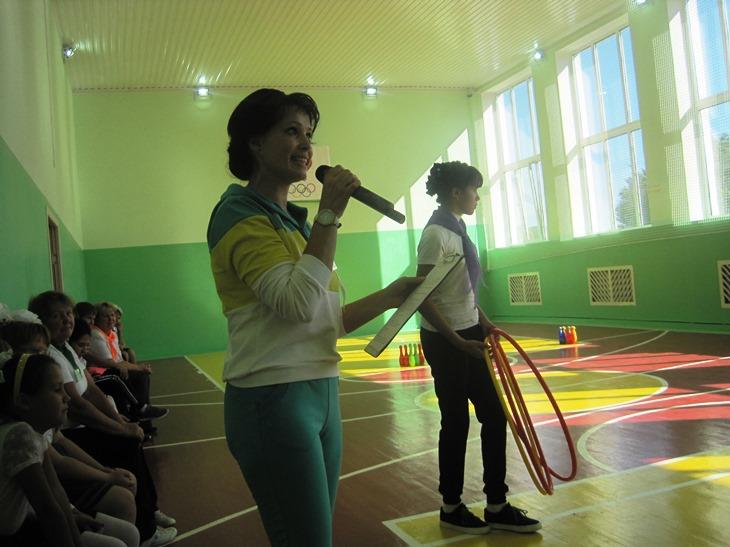 В школе с. Березово состоялся спортивный праздник