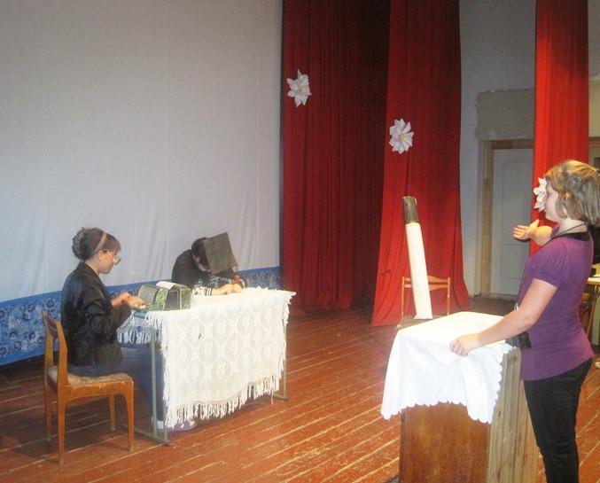 В Доме культуры с. Березово устроили суд над сигаретой