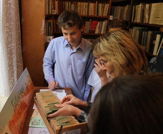 Пугачевские школьники учатся ориентироваться в книжном море