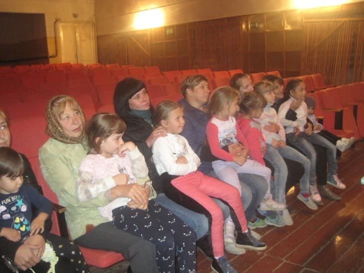 Беседа с воспитанниками детского сада и родителями в Доме культуры с. Березово