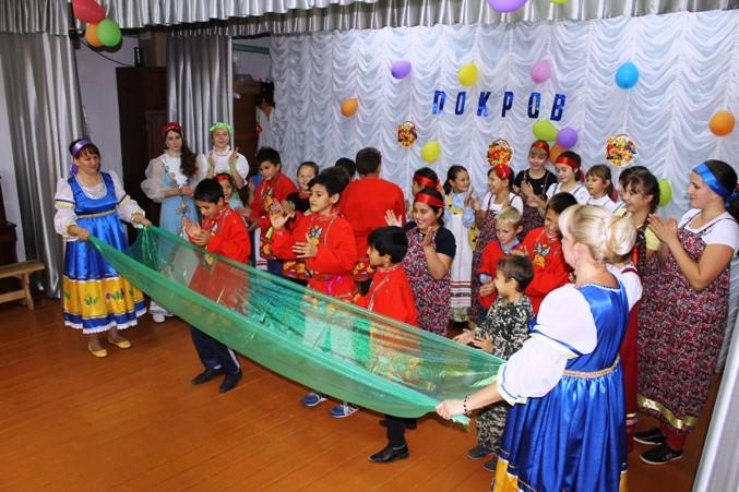 Фольклорный праздник для надеждинских детей