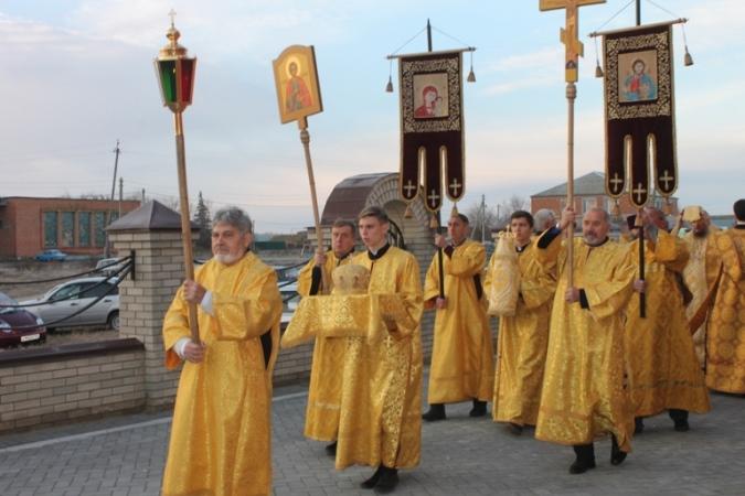 В Пугачевском районе открылся новый храм