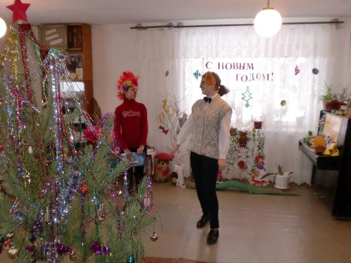 Новогодние мероприятия в библиотеках района