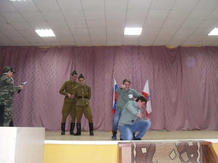 Мероприятие в клубе «Будущего воина»