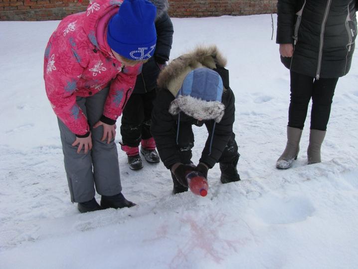 Зимние развлечения в Карловке