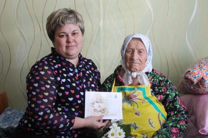 Жительница Пугачевского района отметила 102-годовщину