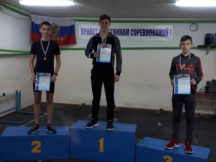 Победители и призеры встречи по легкой атлетике