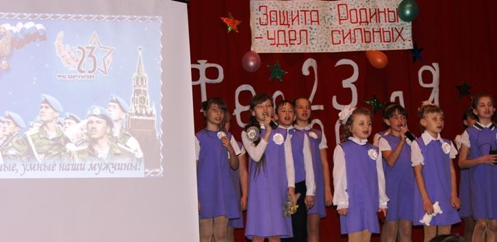 В Пугачевском районе поздравили мужчин