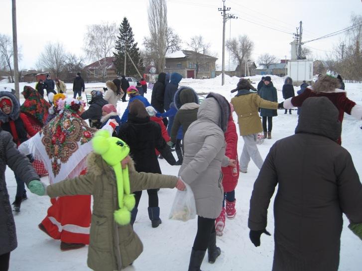 Традиционные праздники в селах Пугачевского района