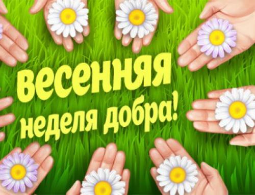 В Пугачевском районе стартует Неделя Добра