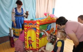 Гости в детском саду