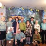Праздничная встреча в обществе слепых