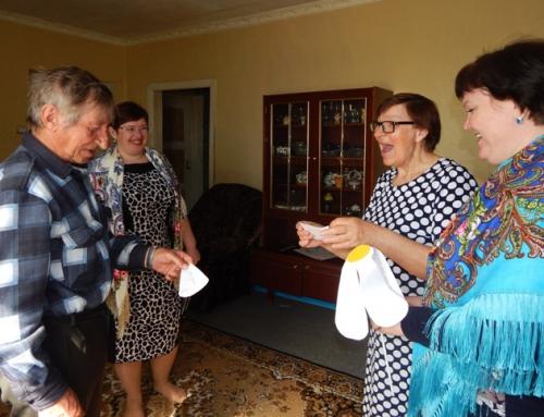 «Сапфировая» свадьба в пос.Солянский