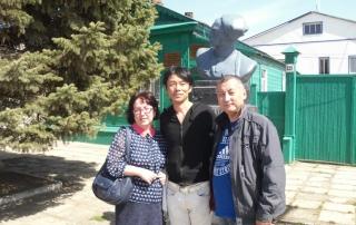 Пугачевский музей посетил гость из Японии
