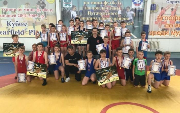 Соревнования борцов