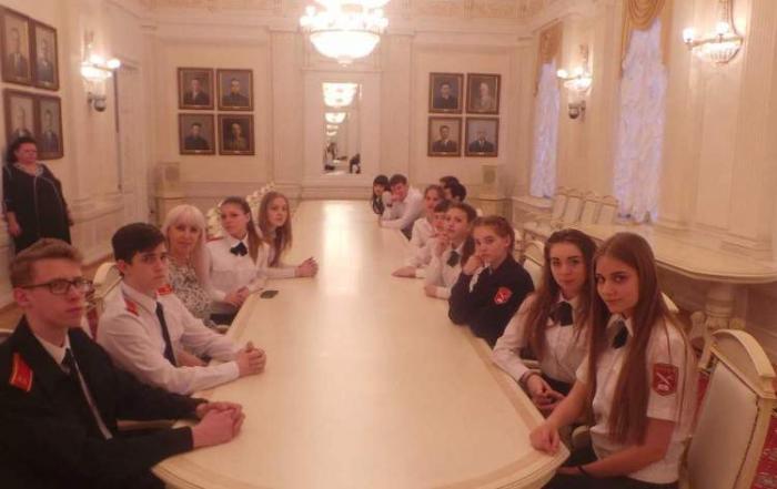 Пугачевские школьники побывали в МГЮУ