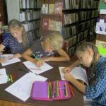 Литературный час в библиотеке