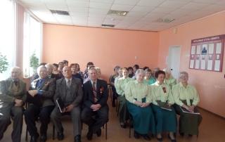 Представителей старшего поколения поздравили с Днем защитника Отечества