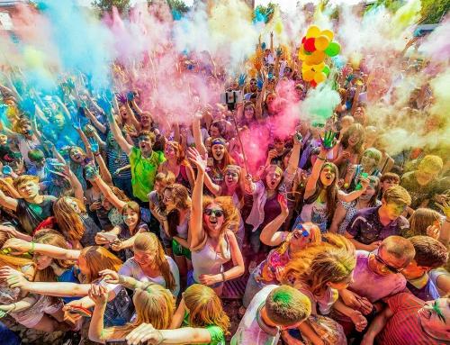 Всероссийский фестиваль красок едет в Пугачев 26 апреля