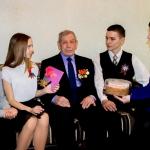 Поздравления для ветеранов от юных волонтеров