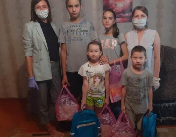 Благотворительная акция «Тропинка к школе»
